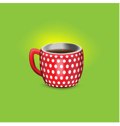 A cup of coffe vector