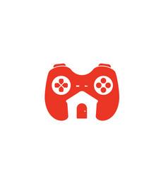 Game house logo vector