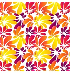 Hawaii style bright seamless pattern vector