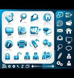 Icon Internet vector
