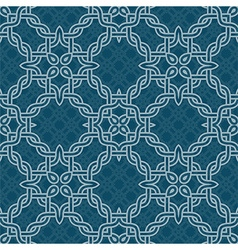 knot tribal seamless pattern vector image vector image