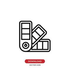 Pantone colors icon vector