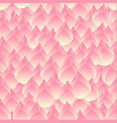 Pink bud indian lotus seamless background vector
