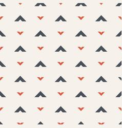 Seamless pattern arrows motif vector