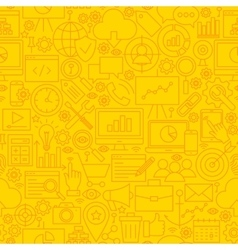 Seo yellow line tile pattern vector