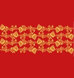 Traditional russian hohloma art seamless pattern vector
