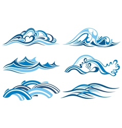 Wave Collection vector