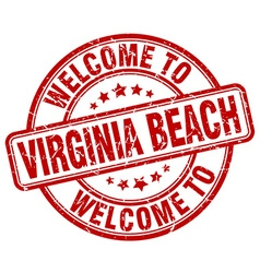 Welcome to Virginia Beach vector