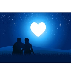 Romantic Moment vector image vector image