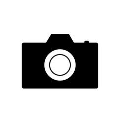 camera sign vector image