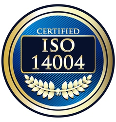 ISO 14004 vector image