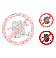 No smoking redneck mesh carcass model and vector