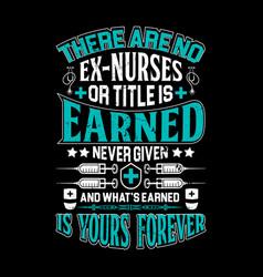nurse t shirts design graphic typographic vector image