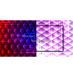 set of seamless patterns repeating geometric vector image