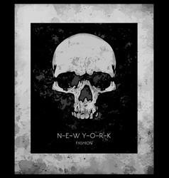 Skull printskull evil skullconcert postersskull vector