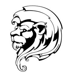 Vintage Lion vector image