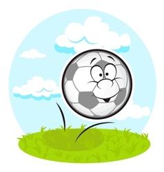 fun football vector image vector image
