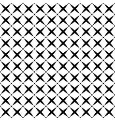 Stars geometric seamless pattern 1607 vector image