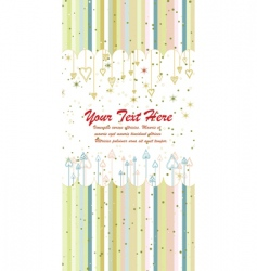 folder cover in childlike style vector image vector image