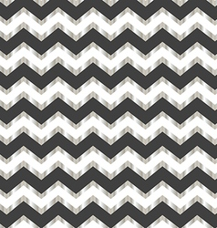 Chevron white silver and grey background vector image vector image