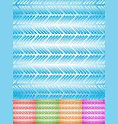 colorful rectangular background set vector image