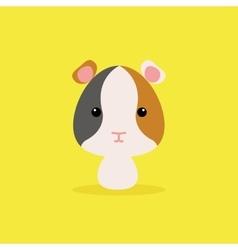 Cute Cartoon Wild hamster vector