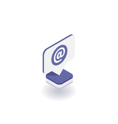 email icon symbol vector image