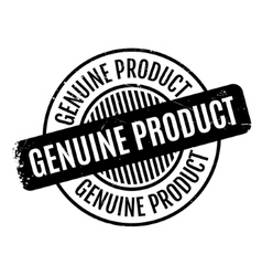 Genuine Product rubber stamp vector
