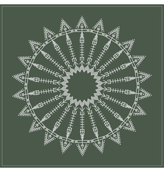 geometric hipster circle 6175471611 vector image