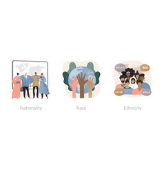 human diversity abstract concept vector image