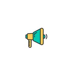 megaphone icon line design business icon design vector image