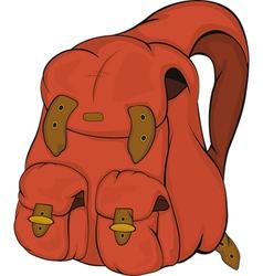 School backpack vector