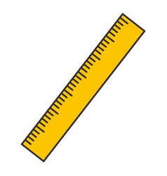 ruler icon image vector image vector image