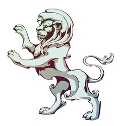 Vintage Lion vector image vector image