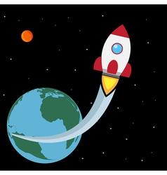 space truckin vector image vector image
