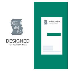 audit analytics business data marketing paper vector image