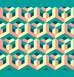 original geometric modern pop-art pattern vector image