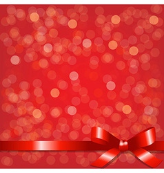 Red Backgrounds With Red Ribbon vector image