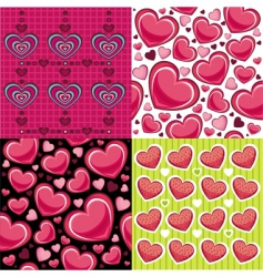 wallpaper valentine vector image