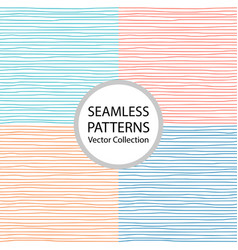 001 seamless pattern with freehand drawn lines vector