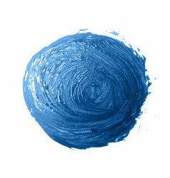 blue brush strokes - backdrop for your text vector image