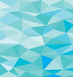 Blue low poly abstract background vector