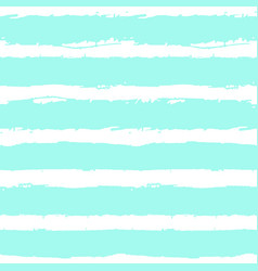 blue paint brush lines background vector image