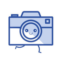 Digital photography camera vector