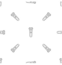 electric shaver pattern seamless vector image