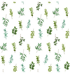 Greenery seamless pattern vector