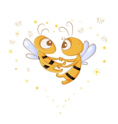 Love bees vector