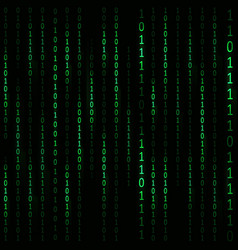 matrix hacker background vector image