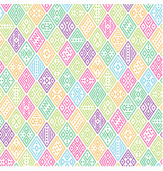 multicolor geometric pattern vector image
