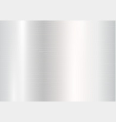 Plate with silver metal texture vector